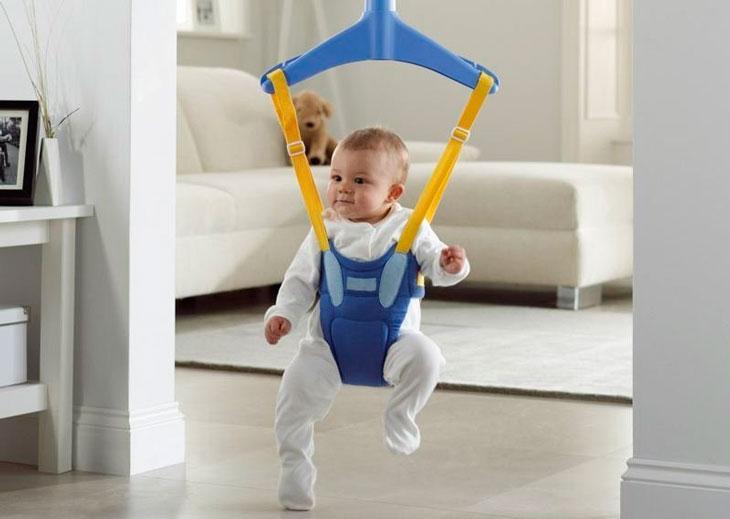 Прыгалка для детей до года